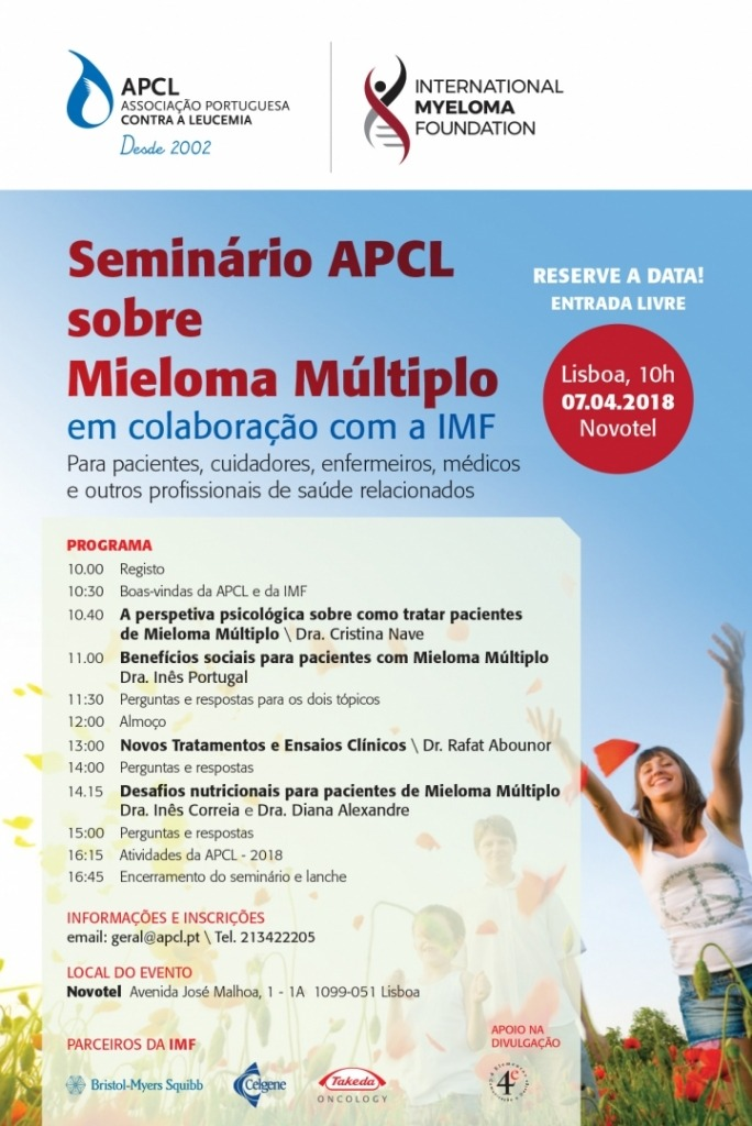 APCL - Seminário sobre Mieloma Mútiplo