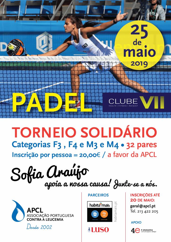 APCL - Realizou-se o Torneio de Padel  Solidário no dia 5 de Julho no Clube VII