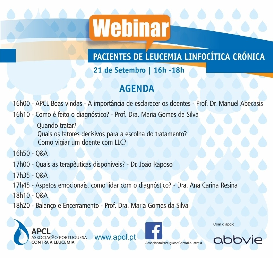 APCL - Webinar para Pacientes de Leucemia Linfocítica Crónica
