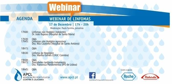 APCL - Webinar sobre Linfomas ocorreu dia 17 de dezembro