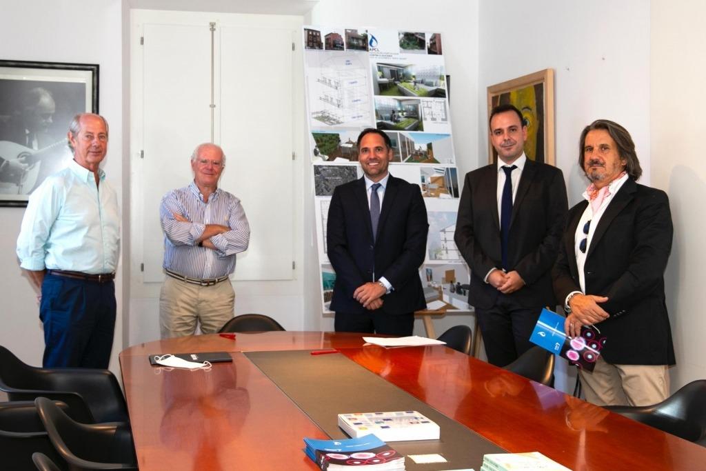 APCL - Assinatura do Contrato de Empreitada - Casa Porto Seguro